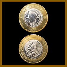Mexico 20 Pesos Coin, 2013 Bimetallic 1913-2013 Comm. 100 Years Mexican Army