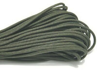 100 ft paracord survival parachute rope cords olive green AD