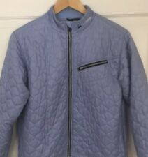 Obermeyer Womens Jacket Weather System  Blue Quilted Insulated Sugarloaf Size 12
