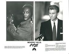 """Gill Hill, Timothy Carhart in BEVERLY HILLS COP III  10"""" x 8"""" b&w REPRINT PHOTO"""