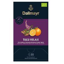 Dallmayr Tee Pyramiden Tulsi Relax Bio Ingwer Orange 20 x 2,5g