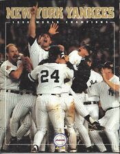 World Series Celebration Cover 1996 New York Yankee Magazine