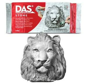 DAS 1KG STONE EFFECT MODELLING CLAY - STATUES SCULPTURES CRAFT ARTISTS CLAY