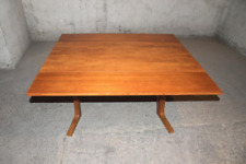 Table basse transformable teck années 60