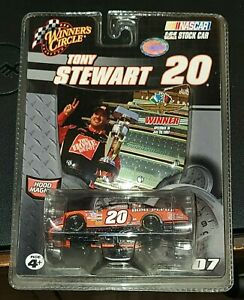 Tony Stewart #20 Home Depot1:64 Scale With Hood Winners Circle NASCAR Magnet NEW