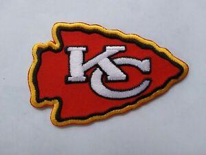 NFL KANSAS CITY CHIEFS LOGO JERSEY JACKET SHIRT HOODIE HAT CAP FOOTBALL PATCH
