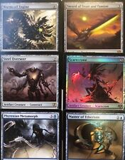 73 Mythics, 267 Rares, 205 Uncommons, 268 Commons MtG Lightly Played Collection