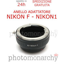 Anello adattatore obiettivo ottiche NIKON AI AI-S F G su NIKON1 NIKON 1 J1 J2 J3