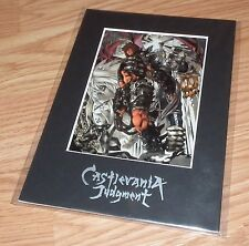 Castlevania Judgment Limited Edition Laser Cel & Certificate of Authenticity