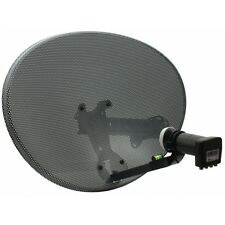 Polesat Zone 1 Satellite Dish ALSO Suitable FOR Freesat & Sky With Quad LNB