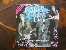 """SP STRAY CATS  """"Bring It Back Again""""   EMI USA – 2032727 PM 102  France  (1989)"""