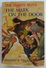 Hardy Boys #13 The MARK ON THE DOOR Franklin W Dixon Dust Jacket