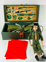 1964 HUGE G.I. Joe Action Figure Doll w/ Foot Locker and Accessories #2