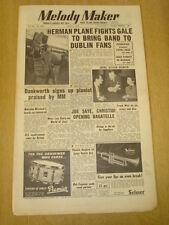 MELODY MAKER 1954 MAY 8 WOODY HERMAN JOHNNY DANKWORTH MARY LOU SWING SESSION