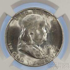 1949-S Franklin Half Dollar NGC MS64