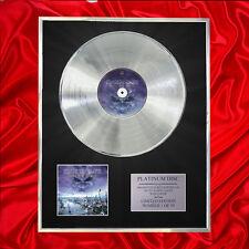 IRON MAIDEN BRAVE NEW WORLD CD PLATINUM DISC FREE P+P!