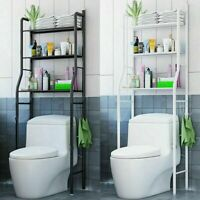 3 Shelf Over The Toilet Bathroom Space Saver Towel Storage Rack Organizer UL
