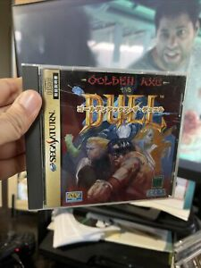Golden Axe : The Duel Sega Saturn Japan import Great Condition