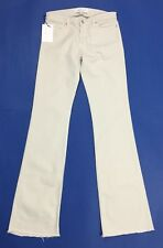 Iro jeans donna nuovo bootcut svasato zampa w28 tg 42 chalk gesso luxury T3866