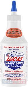 Lucas Heavy Duty Oil Stabilizer 355ml Engine Oil Additive Treatment