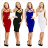 Sexy Women Bodycon Bandage Sleeveless Evening Party Cocktail Mini Dress Clubwear