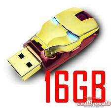 16GB Avenger IRONMAN iron man light up FAST SPEED USB Flash Memory Disk/Drive