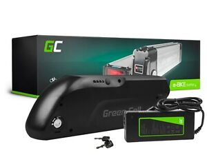E-Bike Akku 36V 13A Li-Ion Elektrofahrrad Down Tube mit Ladegerät