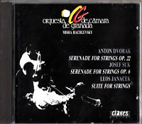 Dvorak & Suk: Serenade for Strings/Janacek- Suite Strings CD MISCHA RACHLEVSKY