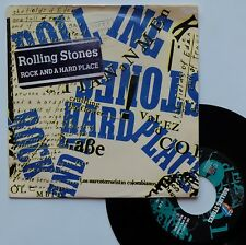 """SP The Rolling Stones  """"Rock and a hard place"""""""