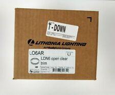 Lithonia Lighting Lo6ar Ldn6 Open Clear Trim Led Down Light Reflector Trim