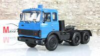 Scale car 1:43, Truck tractor MAZ-6422 (1981-85), blue