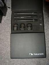 THREE PACK - Nakamichi CM-300 Microphones with CP-1 Cardiod Capsules
