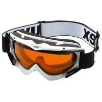Uvex Apache Snow Snowboard Ski Glasses White S1 Double Lens Spheric Antifog New