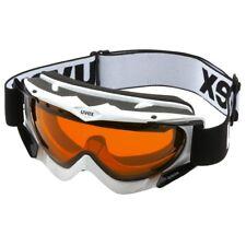Uvex Apache Schnee Snowboard Ski Brille weiß S1 double lens spheric antifog NEU