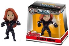 "Metals - Black Widow - Marvel Avengers - Die Cast - 2.5"" - Jada Toys - New"