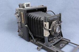 Graflex Speed Graphic 4x5 Film Camera w. Carl Zeiss Jena 135mm f4.5 Lens