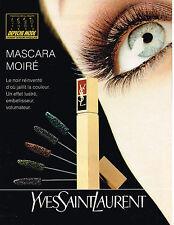 PUBLICITE ADVERTISING 074  1994  YVES SAINT LAURENT   cosmétiques   des cils