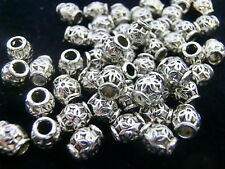 30 Metallperlen RAUTE 12mm antik silberfarbig Perlen Spacer nenad-design AN478