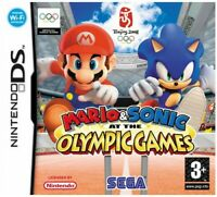 Nintendo DS - Mario & Sonic at the Olympic Games mit OVP