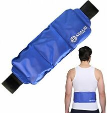 BACK ICE PACK WRAP Hot Cold Therapy Pain Relief Large Areas Torso Shoulder Body