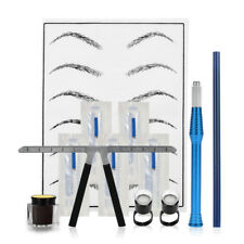 Microblading Practice Set Beginners Complete Kit Tattoo Accessories Eyebrow Lip