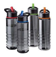 750ml Hiking Bottle Hydration Sport Straw Flip Cycling Water Drinks Running