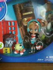 Littlest Pet Shop London Blythe Doll Giftset Sightseeing Cute Mint in Box!
