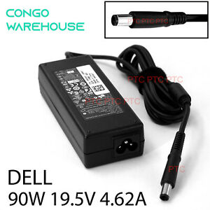 19.5V4.62A90W Genuine AC Adapter charger Dell LATITUDE D620 D630 D800 D810 D830