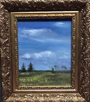 Original Ölgemälde Mecklenburg Impressionismus Realismus Malerei Rahmen