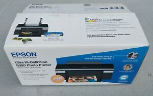 Epson Ultra Hi Definition R280 Color Photo Printer New Open Box