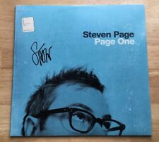 STEVEN PAGE SIGNED PAGE ONE VINYL LP RECORD! AUTOGRAPHED BARENAKED LADIES SINGER