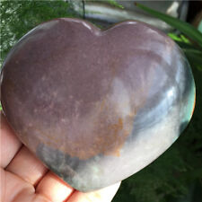 328g Natural Energy Stone Sea Stone Ancient Rock Specimen Heart-shaped N808