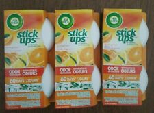 """AIR WICK STICK UPS""Air Freshener Sparkling Citrus Scented.Room Car Truck 3 Pack"