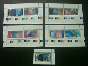 [SJ] Germany Euro Currency 2002 Money Banknotes (miniature sheet) MNH *vignette